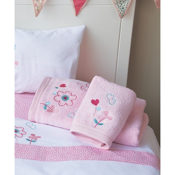 Βρεφικές Πετσέτες (Σετ 2τμχ) Kentia Baby Garden