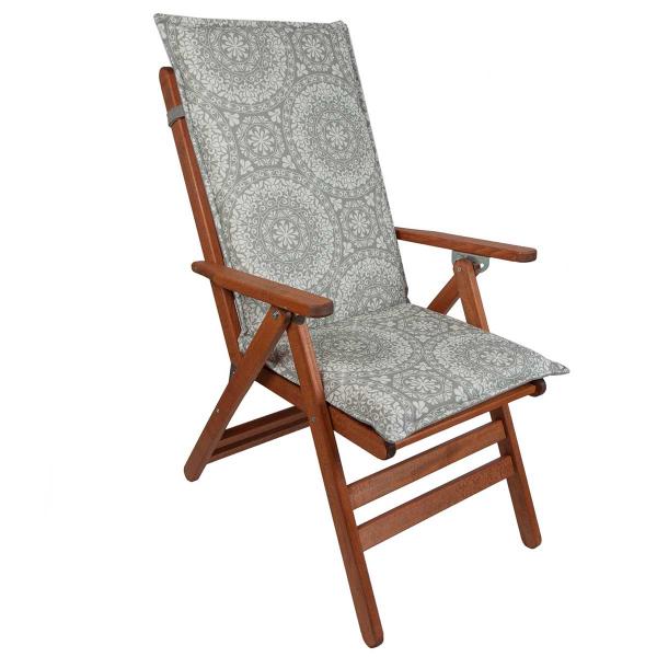 Μαξιλάρι Καρέκλας 2 Όψεων Με Πλάτη 70cm Be Comfy Ethnico