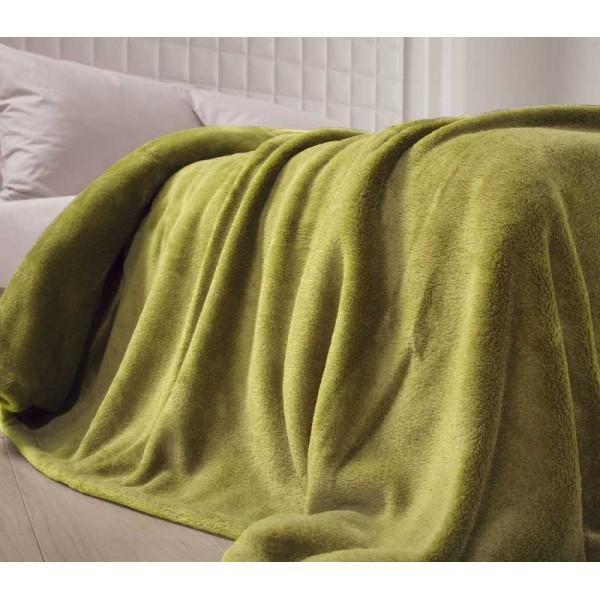 Κουβέρτα Fleece Μονή Nef-Nef Planet Green