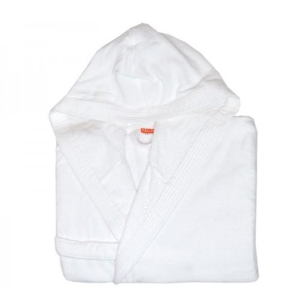 Μπουρνούζι Με Κουκούλα Nef-Nef Traffic White