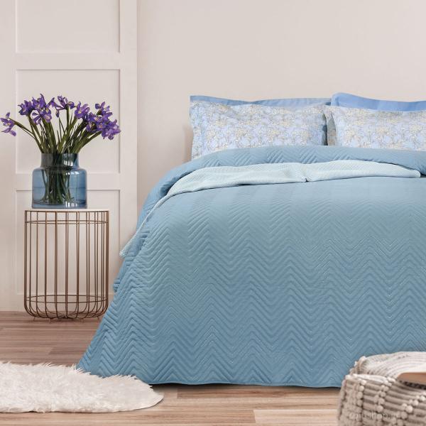 Κουβερλί Μονό Das Home Happy Micro 9480 Blue