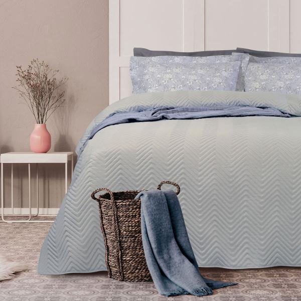 Κουβερλί Υπέρδιπλο Das Home Happy Micro 9481 Grey