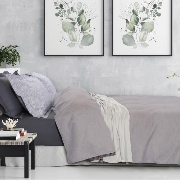 Κουβερλί Μονό Das Home Happy Micro 9483 Grey