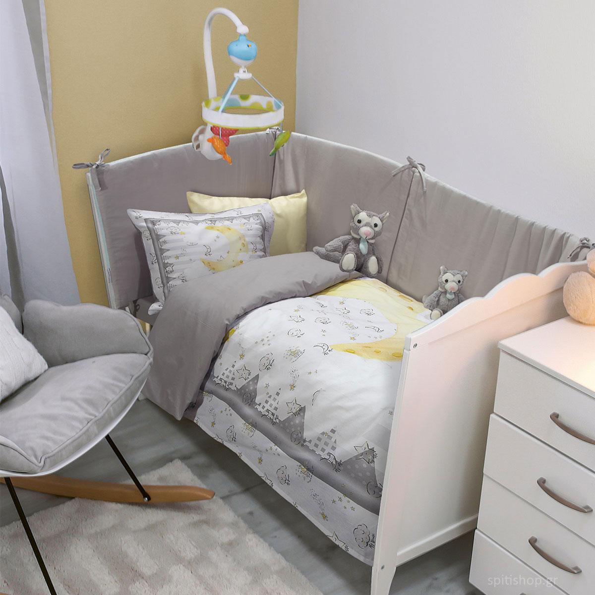 Σεντόνια Κούνιας (Σετ) Das Home Smile 6578