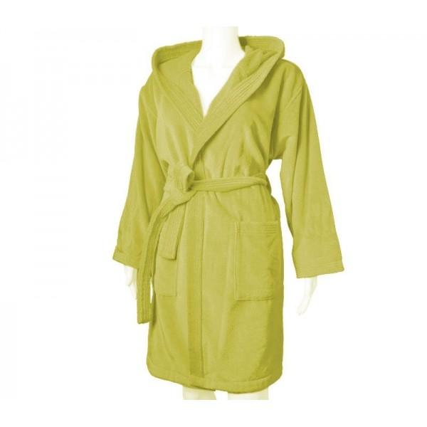 Μπουρνούζι Με Κουκούλα Nef-Nef Style Yellow