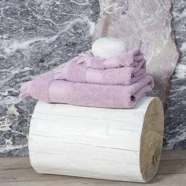 Πετσέτα Προσώπου (50x90) Nima Bath Parley Lilac