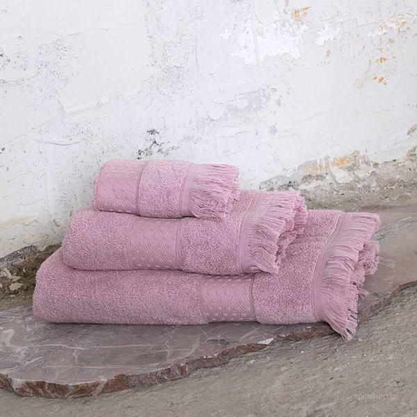 Πετσέτες Μπάνιου (Σετ 3τμχ) Nima Bath Parley Lilac