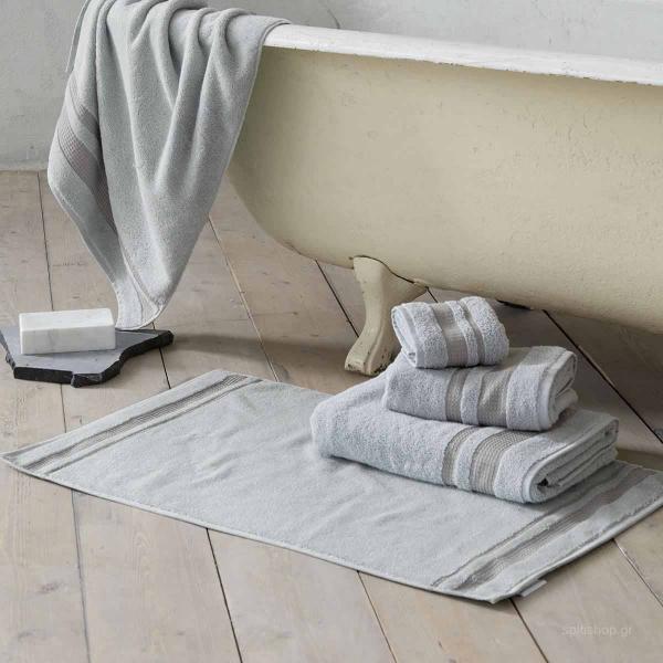 Πετσέτα Χεριών (30x50) Nima Bath Juniper Light Grey