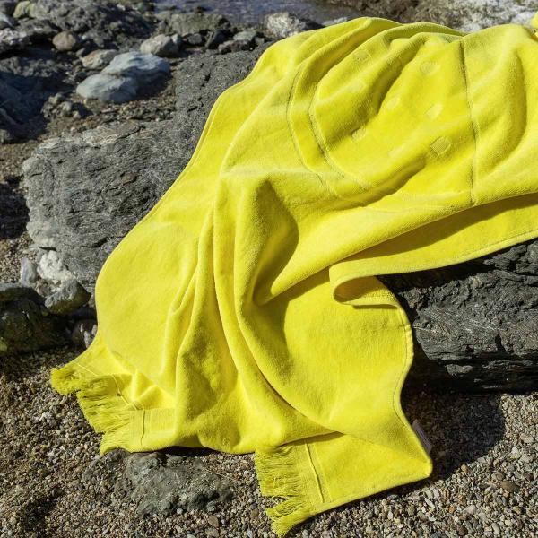 Παιδική Πετσέτα Θαλάσσης Nima Beach Watermelon Yellow