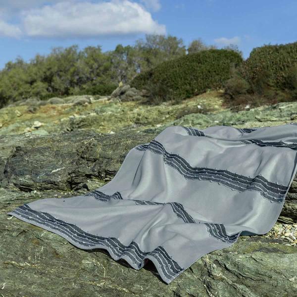 Πετσέτα Θαλάσσης-Παρεό Nima Beach Niel Grey