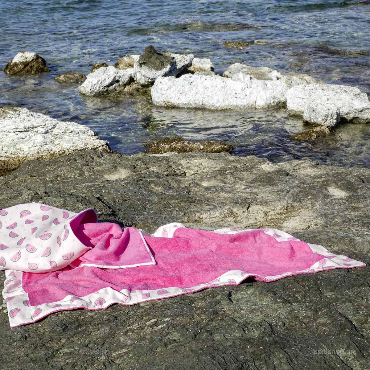 Παιδική Πετσέτα Θαλάσσης (70×140) Nima Beach Popsugar