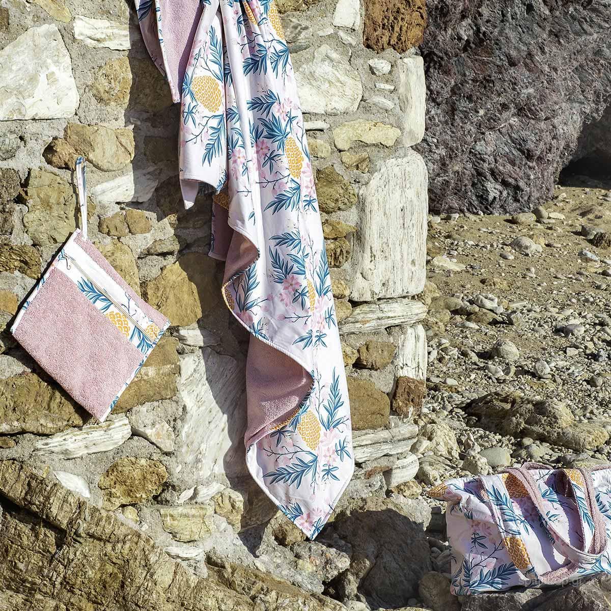 Πετσέτα Θαλάσσης-Παρεό (90×150) Nima Beach Santa Marta