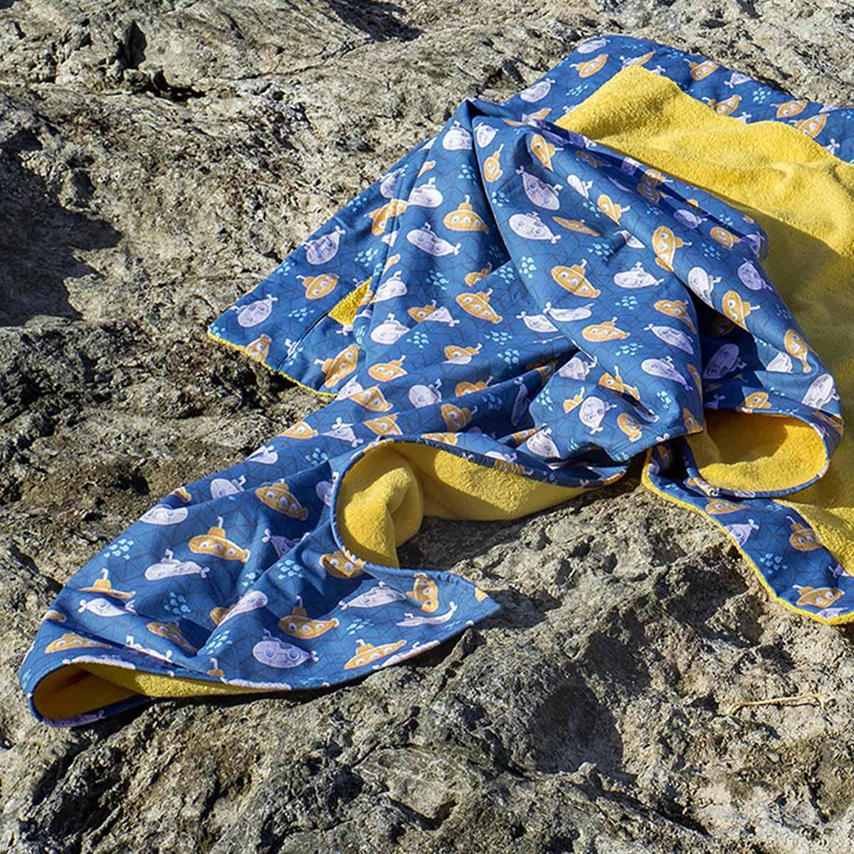 Παιδική Πετσέτα Θαλάσσης (75×150) Nima Beach Subby