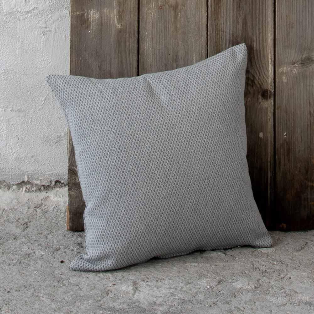 Διακοσμητικό Μαξιλάρι (45×45) Nima Living Pinto Grey