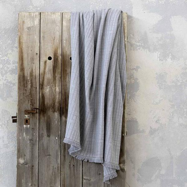 Ριχτάρι Πολυθρόνας (180x180) Nima Living Evenness Grey