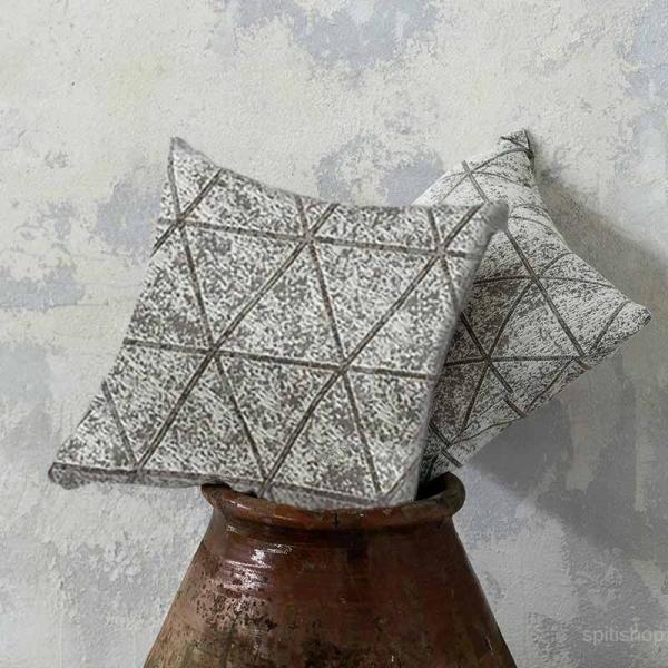 Διακοσμητικό Μαξιλάρι (45x45) Nima Living Swank Taupe