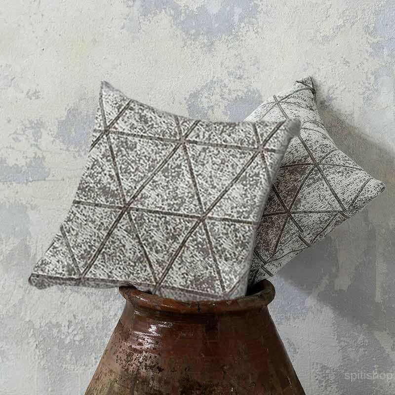 Διακοσμητικό Μαξιλάρι (45×45) Nima Living Swank Taupe