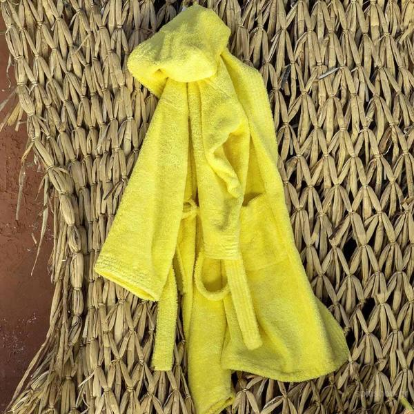 Παιδικό Μπουρνούζι Nima Kids Wizard Sunny Yellow