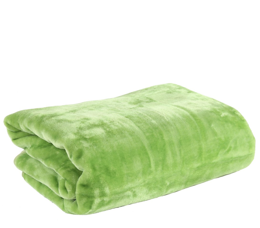 Κουβέρτα Βελουτέ Μονή Nef-Nef Loft L.Green