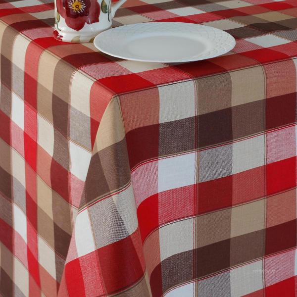 Τραπεζομάντηλο (140x140) Melinen Granata Red