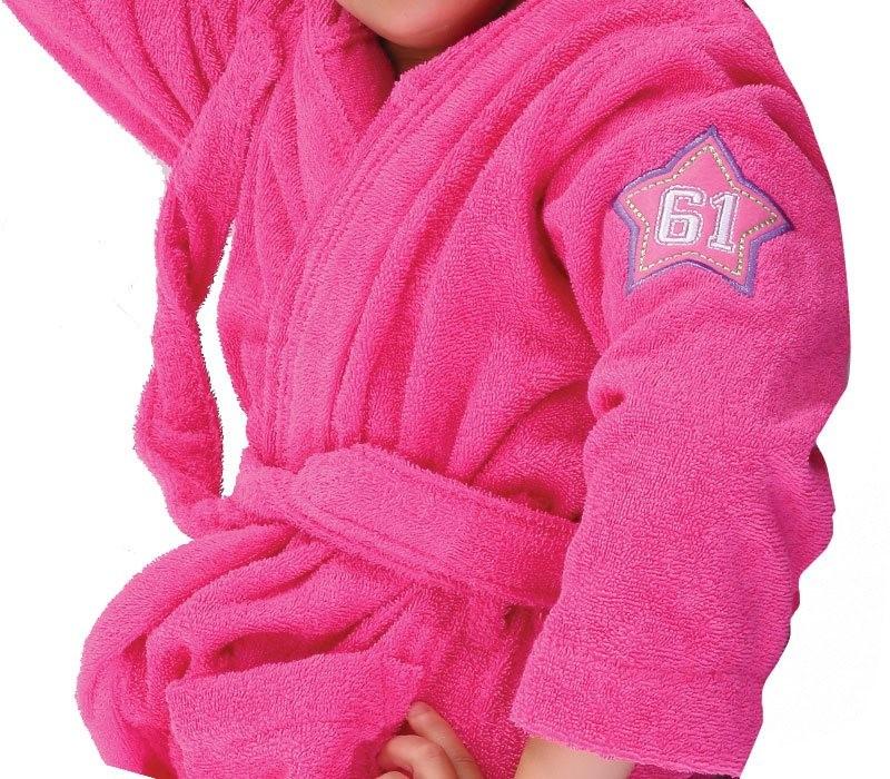Παιδικό Μπουρνούζι Nef-Nef Junior Kids Hot Pink 14 14 home   παιδικά   μπουρνούζια παιδικά