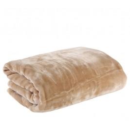 Κουβέρτα Βελουτέ Μονή Nef-Nef Loft Linen