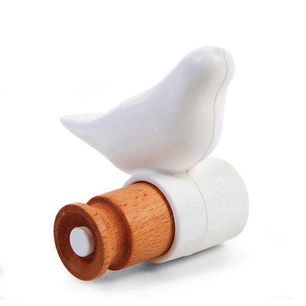 Κρεμαστράκι Τοίχου ChildHome Bird Hook White 74504