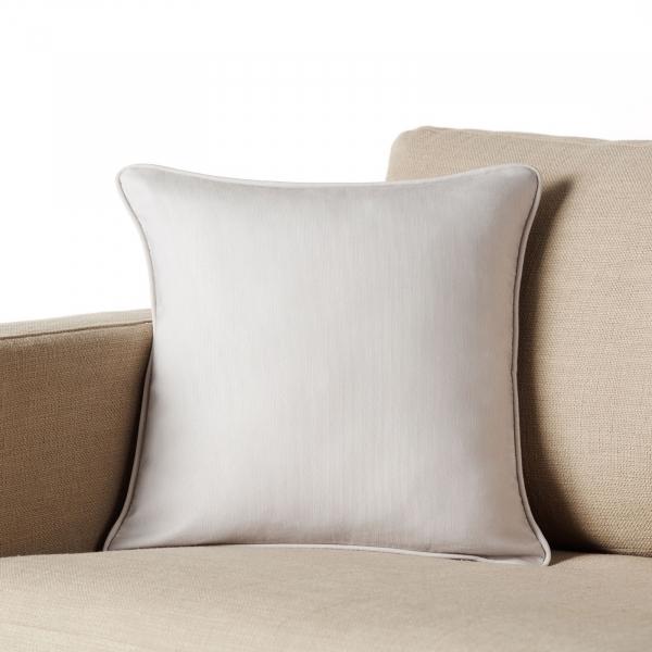 Διακοσμητική Μαξιλαροθήκη (43x43) Gofis Home Solid Grey 911/14