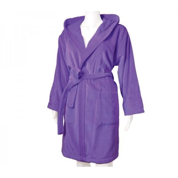 Μπουρνούζι Με Κουκούλα Nef-Nef Style Purple