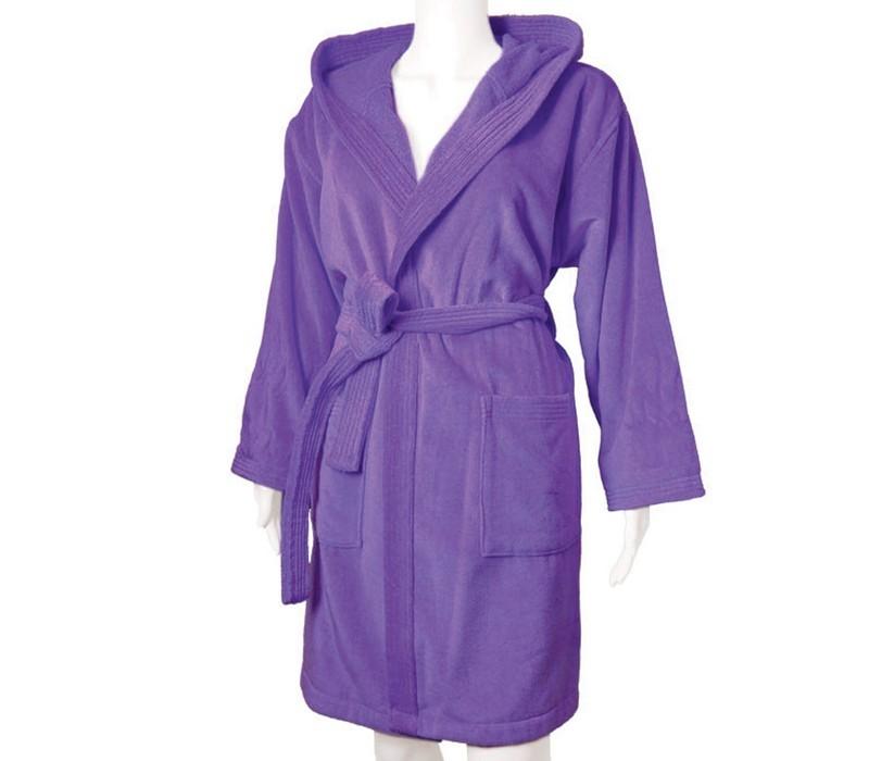 Μπουρνούζι Με Κουκούλα Nef-Nef Style Purple MEDIUM MEDIUM