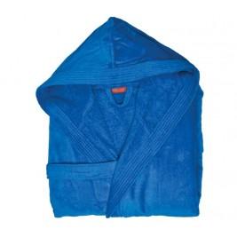 Μπουρνούζι Με Κουκούλα Nef-Nef Traffic Royal Blue