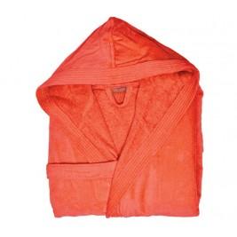 Μπουρνούζι Με Κουκούλα Nef-Nef Traffic Orange