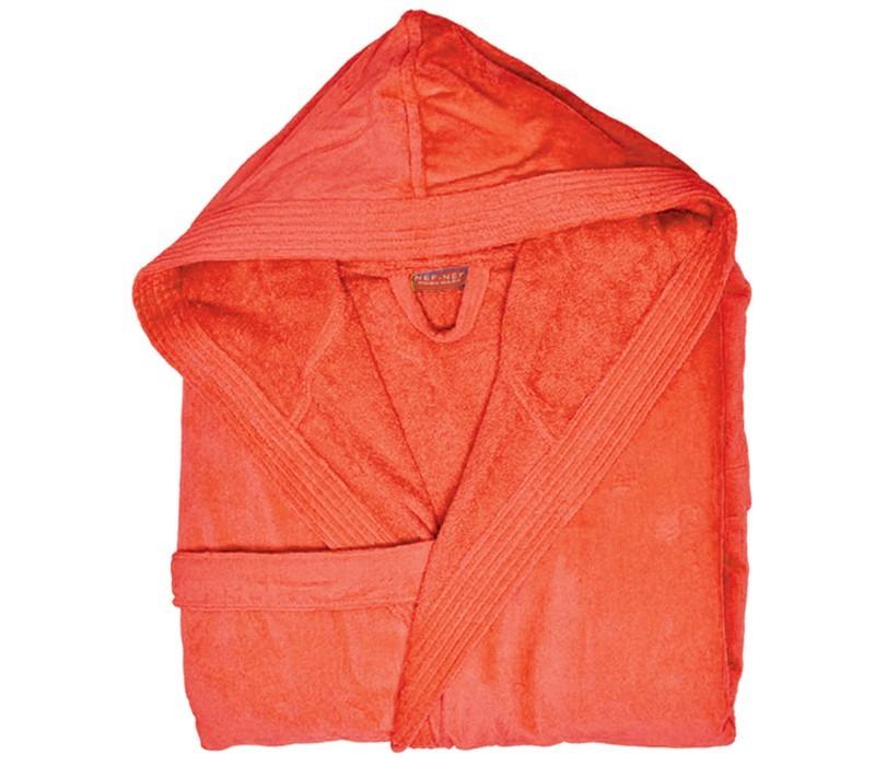 Μπουρνούζι Με Κουκούλα Nef-Nef Traffic Orange SMALL SMALL