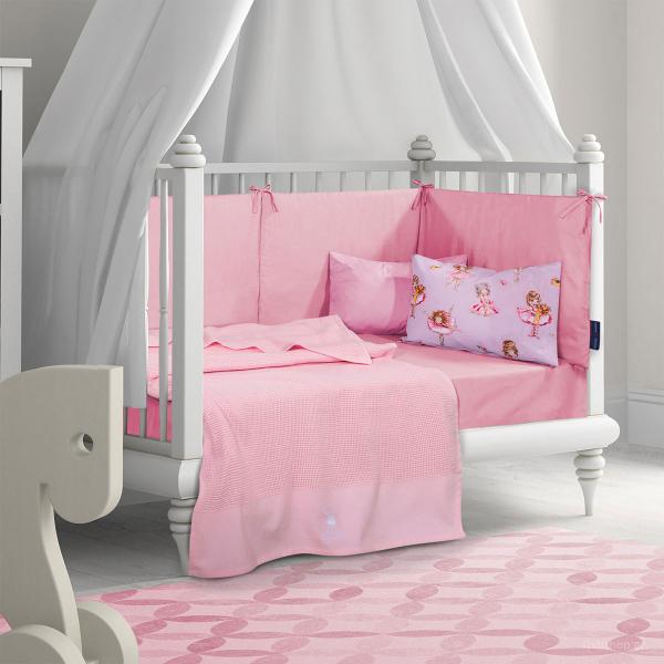 Κουβέρτα Πλεκτή Κούνιας Polo Club Essential Baby 2963