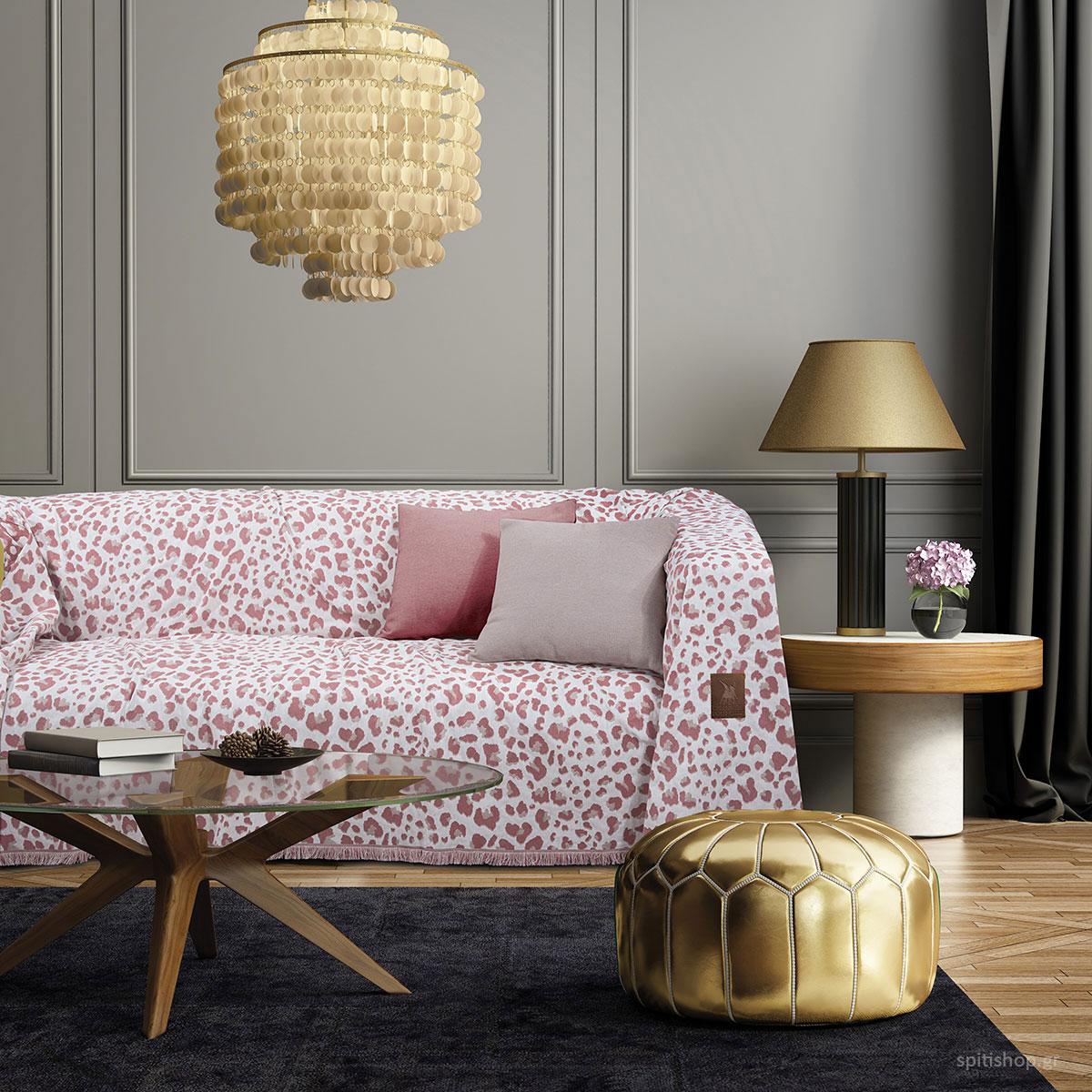 Ριχτάρι Τριθέσιου (180×300) Polo Club 2745 Pink