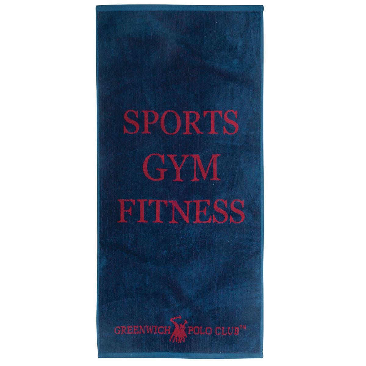 Πετσέτα Γυμναστηρίου (45×90) Polo Club 2557 Blue
