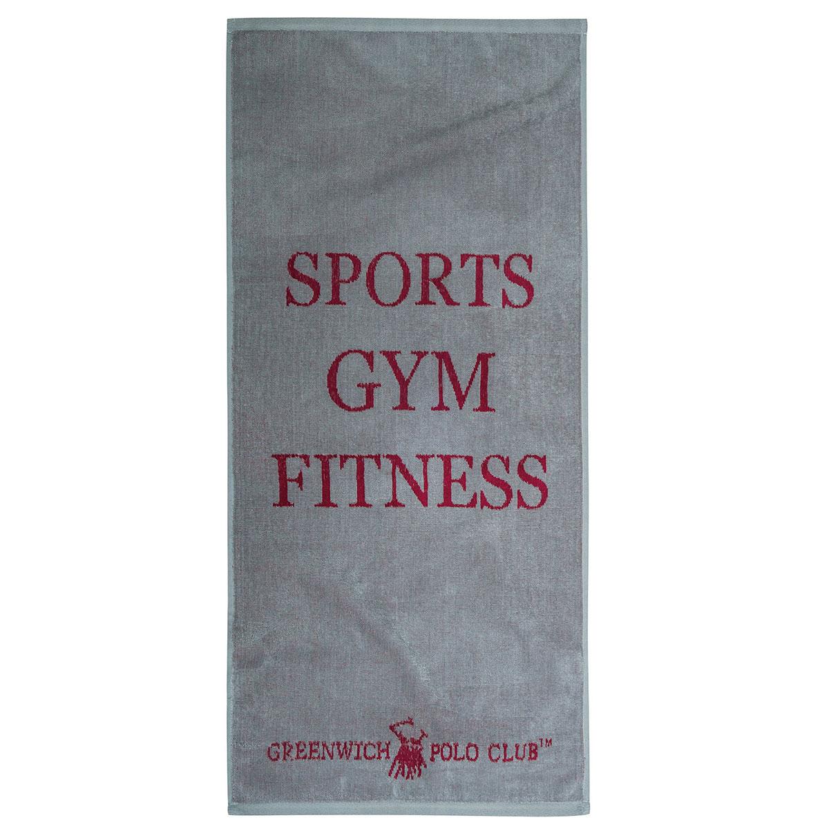 Πετσέτα Γυμναστηρίου (45×90) Polo Club 2559 Grey