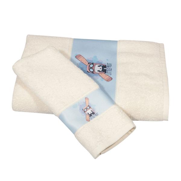 Βρεφικές Πετσέτες (Σετ 2τμχ) Polo Club Essential Baby 2934