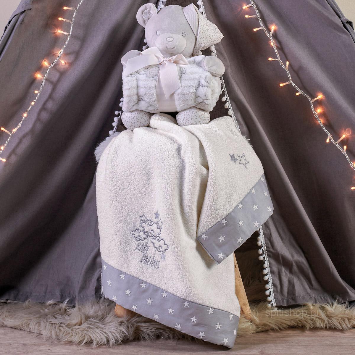 Βρεφικές Πετσέτες (Σετ 2τμχ) Kentia Baby Dream