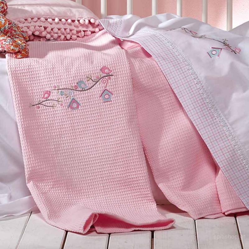 Κουβέρτα Πικέ Αγκαλιάς Kentia Baby Nest