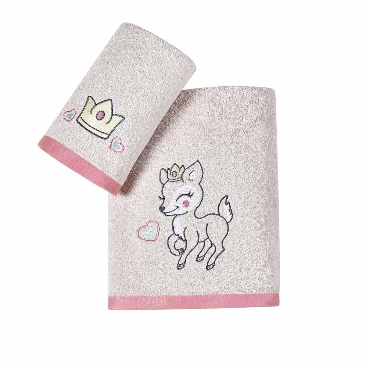 Βρεφικές Πετσέτες (Σετ 2τμχ) Kentia Baby Deery