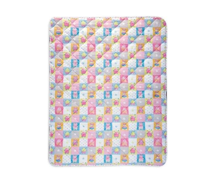 Πάπλωμα Κούνιας Nef-Nef Baby Happy Monsters Pink