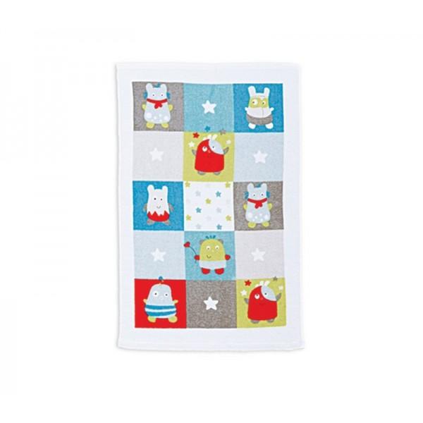 Βρεφική Πετσέτα Χεριών (40x60) Nef-Nef Baby Happy Monsters Aqua
