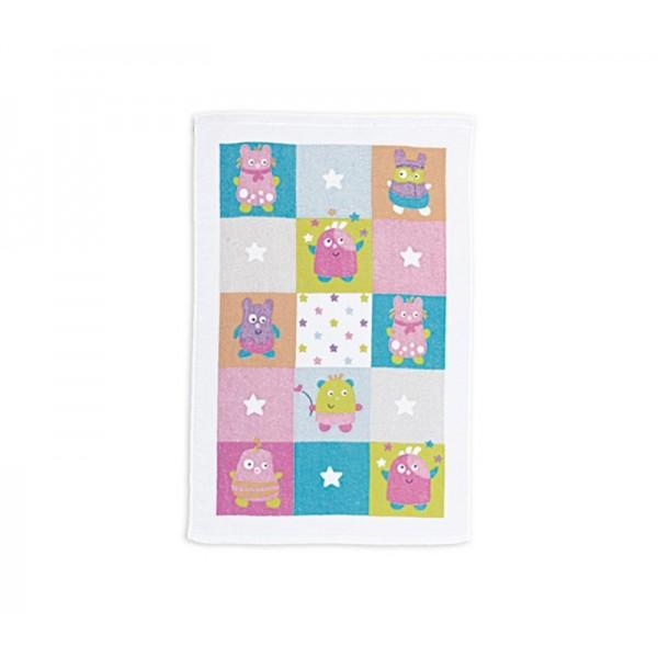 Βρεφική Πετσέτα Χεριών (40x60) Nef-Nef Baby Happy Monsters Pink