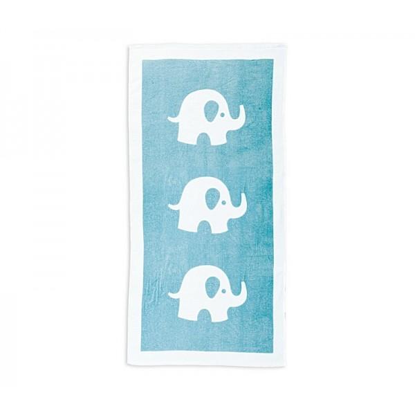 Βρεφική Πετσέτα Σώματος (70x140) Nef-Nef Baby Barrus Aqua