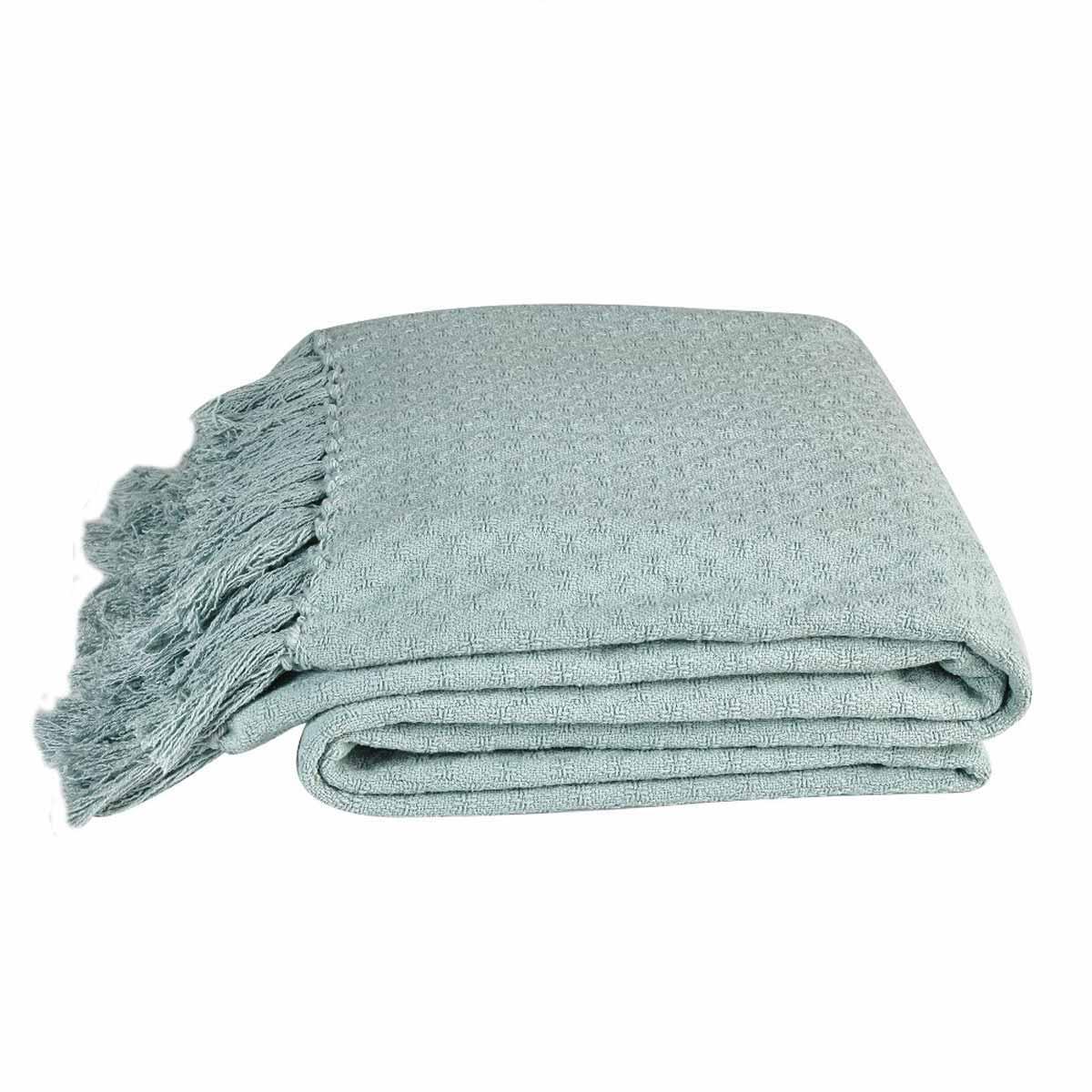Κουβέρτα Πλεκτή Ημίδιπλη 2 Όψεων Kentia Loft Priya 10