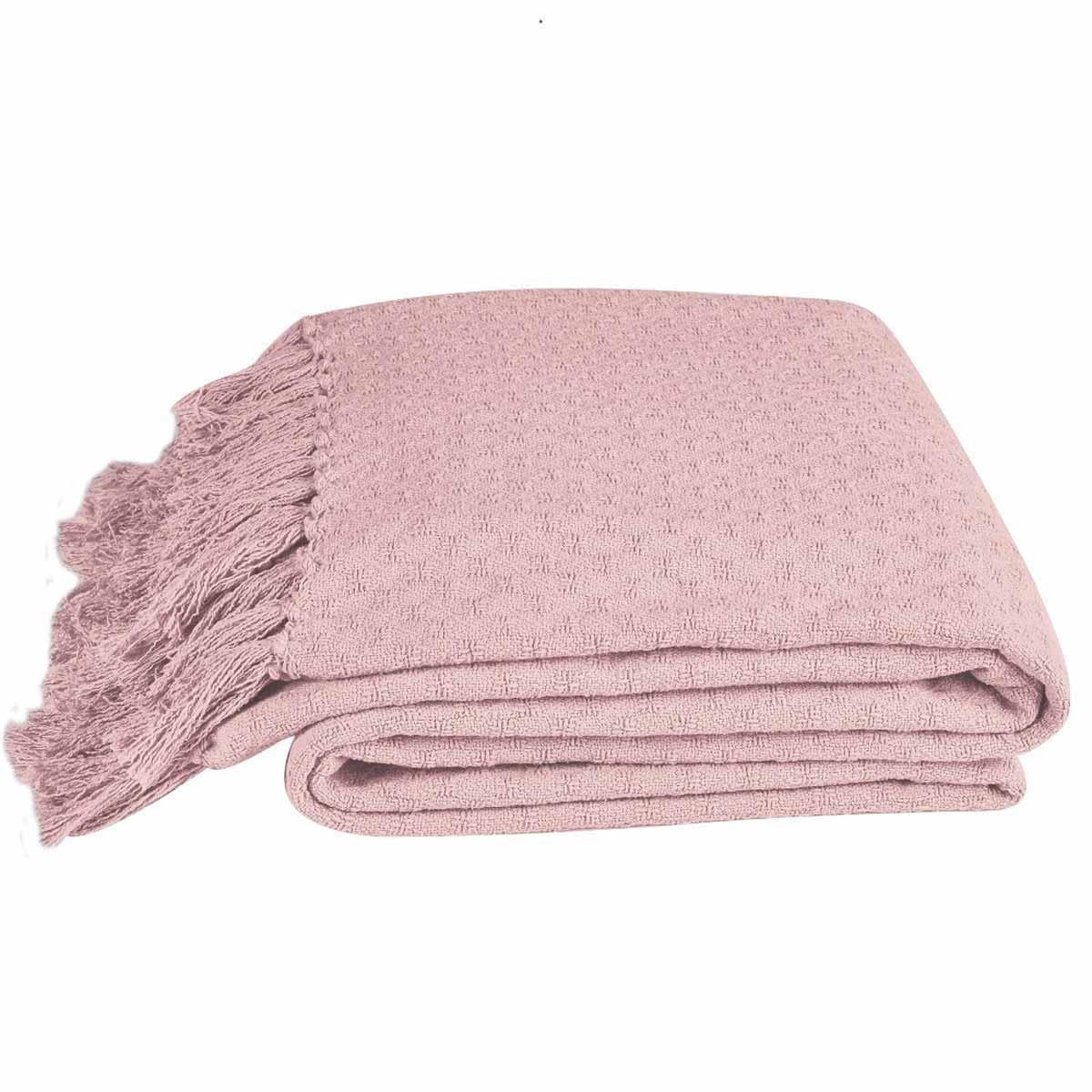 Κουβέρτα Πλεκτή Μονή Kentia Loft Priya 14 Pink