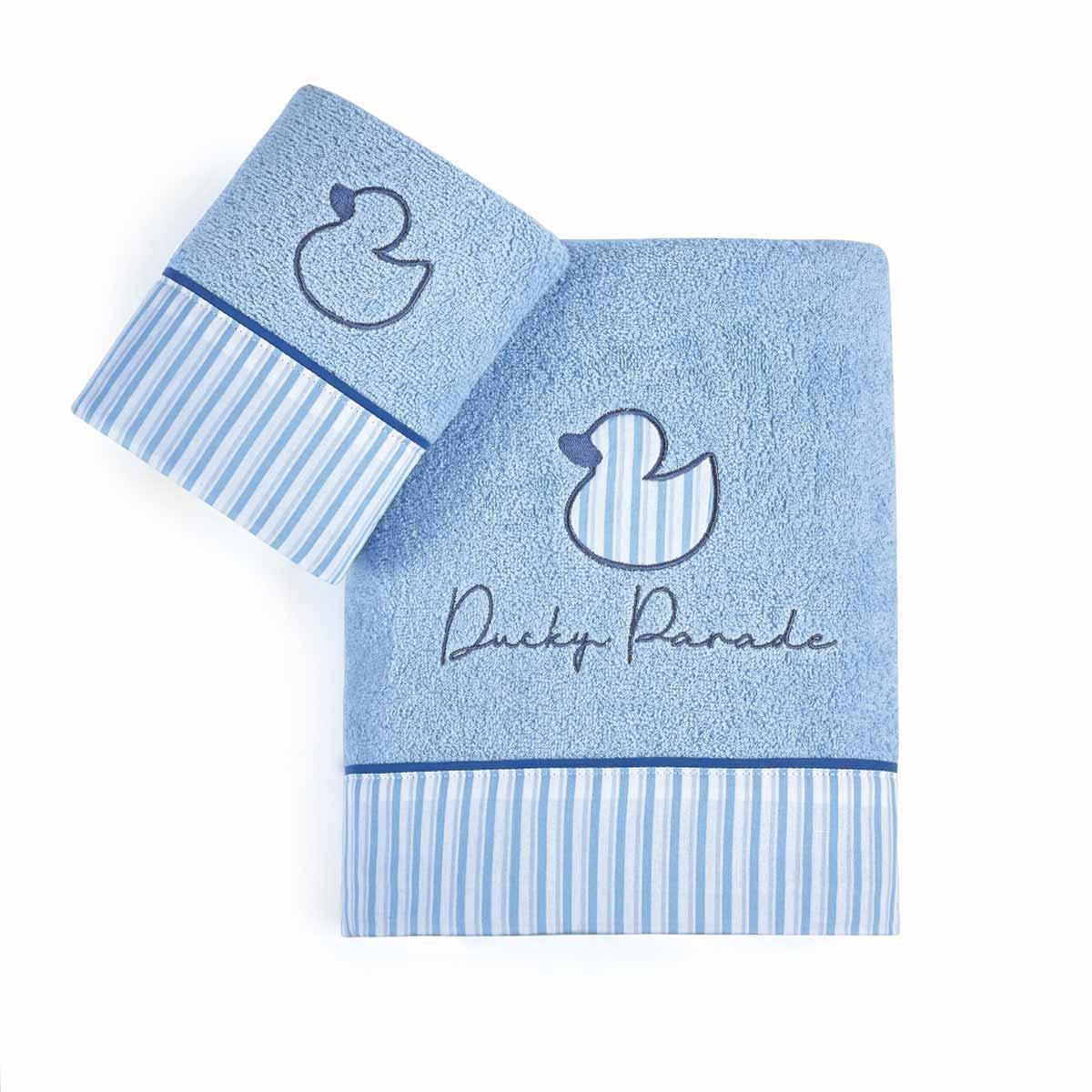 Βρεφικές Πετσέτες (Σετ 2τμχ) Kentia Baby Ducky