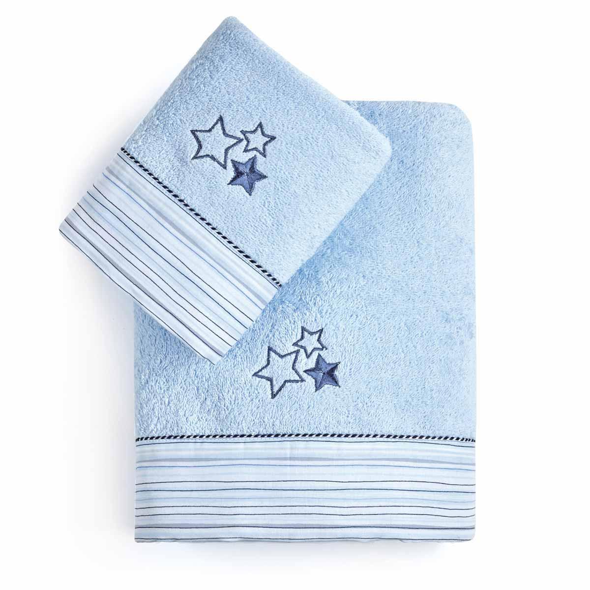 Παιδικές Πετσέτες (Σετ 2τμχ) Kentia Baby Piccolo