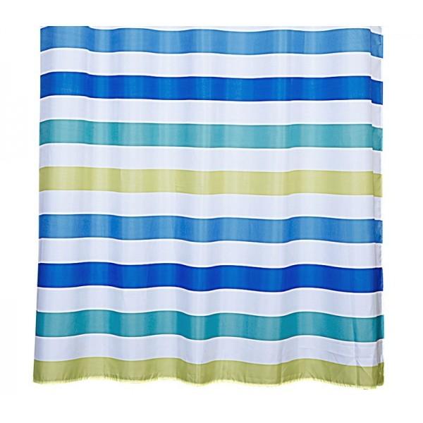 Κουρτίνα Μπάνιου (180x180) Nef-Nef Straight Blue/Green
